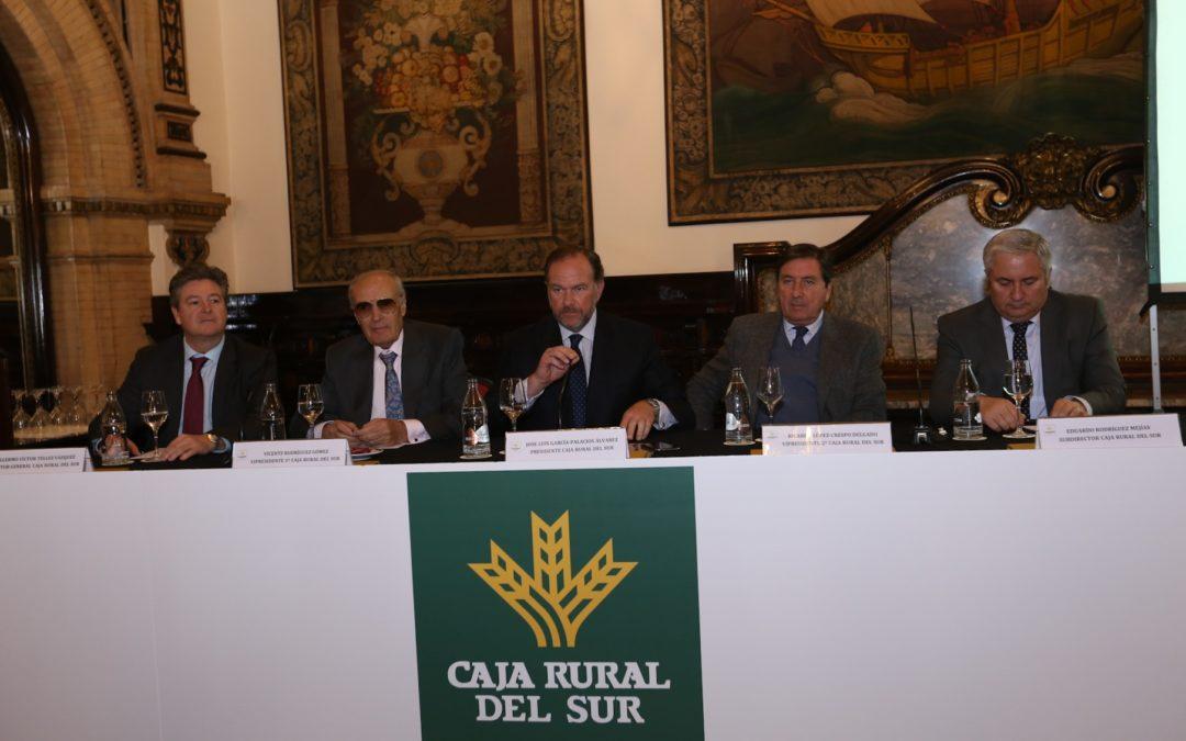 Encuentro de Caja Rural del Sur con clientes de organizaciones e instituciones andaluzas