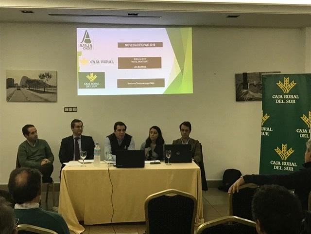 Caja Rural del Sur y Asaja Cádiz organizan una jornada informativa  en Los Barrios para informar sobre las novedades de la PAC