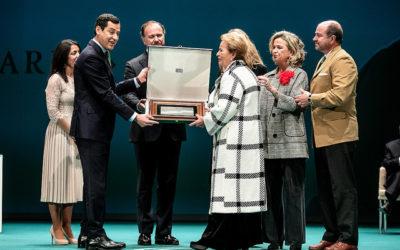Entrega del reconocimiento como Hijo Predilecto de Andalucía, a José Luis García Palacios, a título póstumo