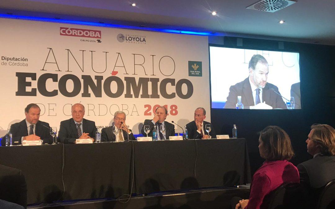 """Caja Rural del Sur patrocina la edición 2019 del """"Anuario Económico de Córdoba"""""""