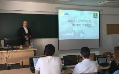 """Colaboramos con el seminario """"Servicios Digitales de Medios de Pago"""" de la Olavide"""