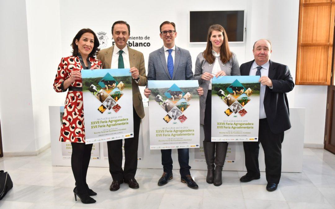 Presentación de la XXVII Feria Agroganadera y XVII Feria Agroalimentaria del Valle de Los Pedroches