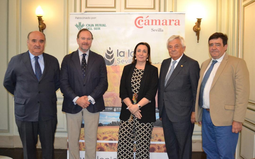 Asamblea anual de la Lonja de Cereales y Oleaginosas de Sevilla