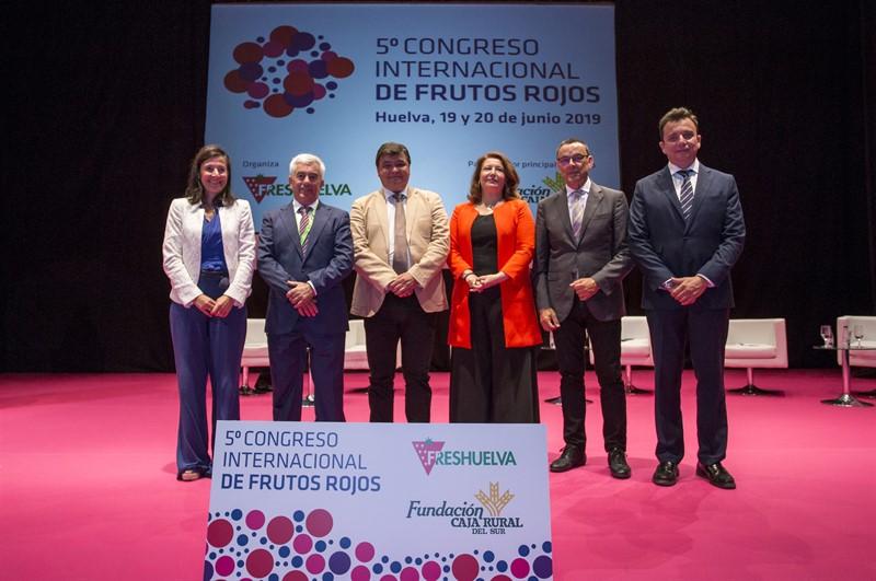 Caja Rural del Sur presente en el 5º Congreso Internacional de Frutos Rojos celebrado en Huelva