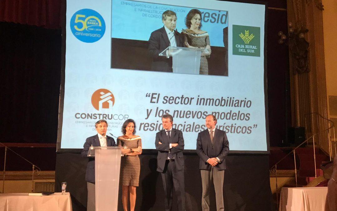 La Asociación Construcor de Córdoba analiza los nuevos modelos residenciales turísticos