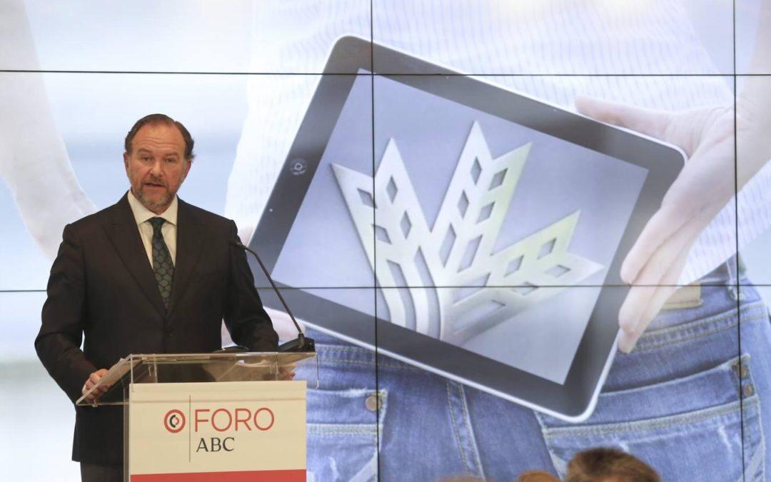 El presidente de Caja Rural del Sur analiza el modelo de la banca cooperativa en el Foro Económico de ABC de Sevilla