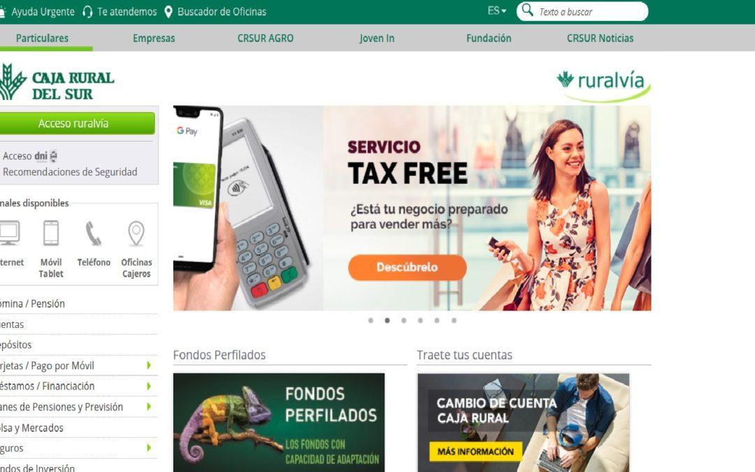 Crece el uso de los servicios digitales web y móvil de Caja Rural del Sur