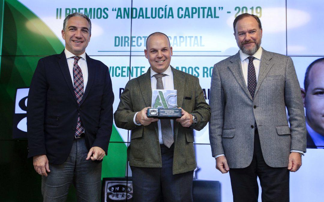 """Otorgados los """"Premios Andalucía Capital 2019"""" en Caja Rural del Sur"""