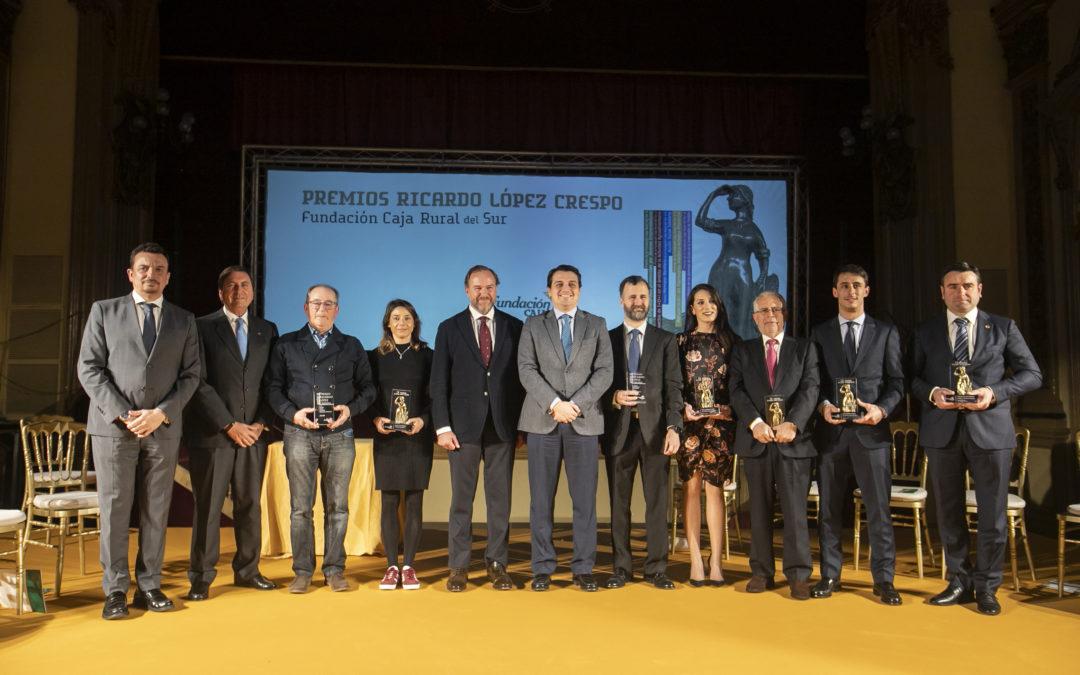 Fundación Caja Rural del Sur entrega en Córdoba los IX premios «Ricardo López Crespo»