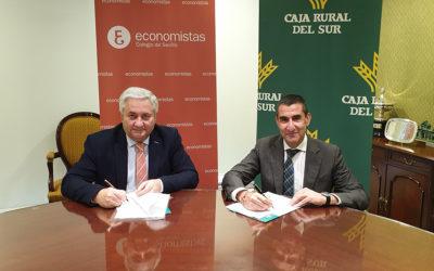 Convenio de Caja Rural del Sur con el Colegio de Economistas de Sevilla