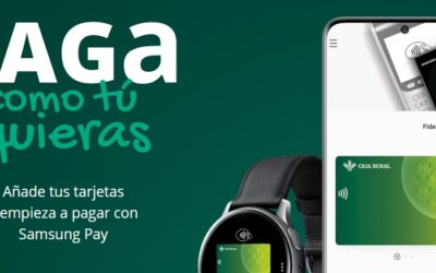 Samsung Pay ya está disponible en Caja Rural del Sur