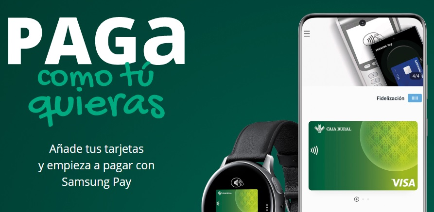 Samsung Pay ya está disponible en Caja Rural del Sur