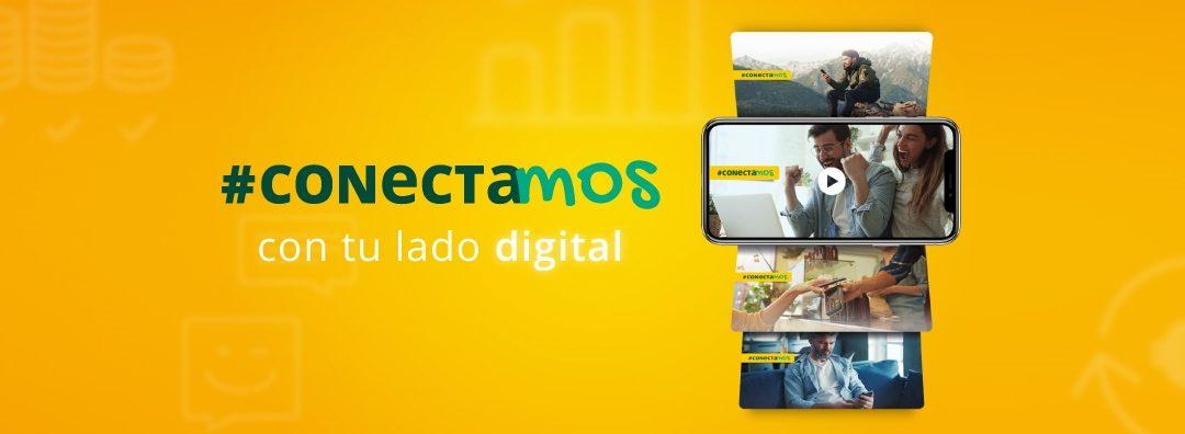 Caja Rural del Sur conecta con el lado más digital de sus clientes a través de su estrategia de digitalización hasta 2022. #CONECTAmos
