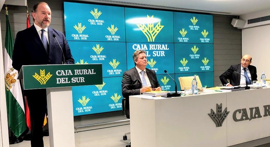 Caja Rural del Sur refuerza su posición de solvencia con un ratio del 19,80% y se vuelca en el crédito al crecer un 11% hasta los 460 millones en 2019