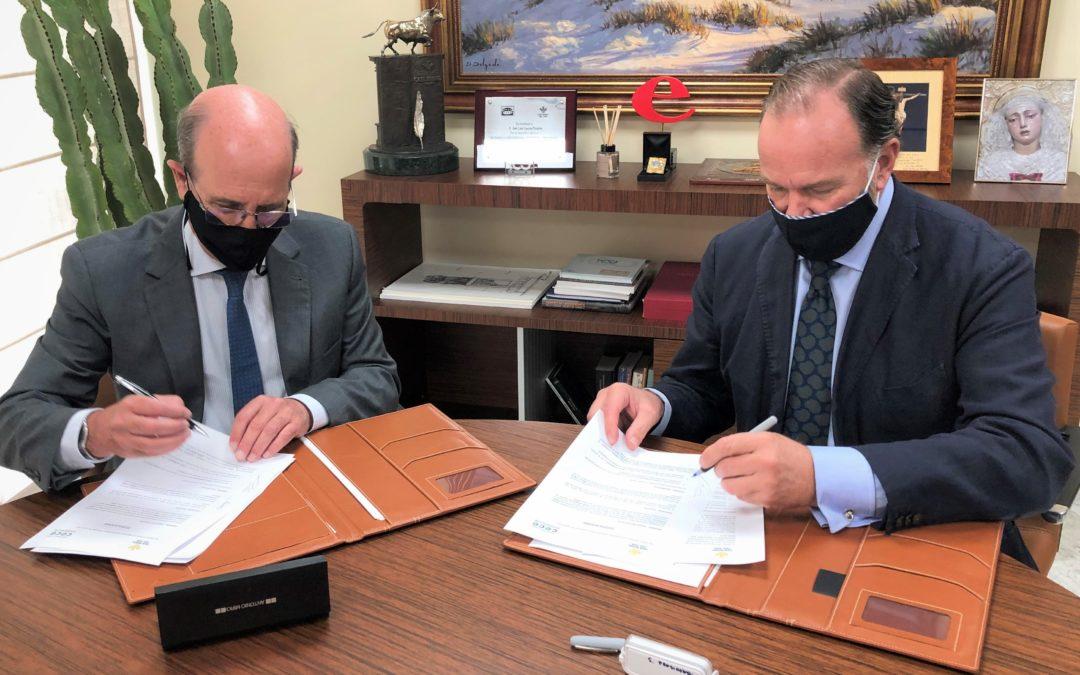 Caja Rural del Sur y CECE-Andalucía firman un convenio para la mejora del sector educativo y la gestión de centros