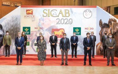 Caja Rural del Sur en el acto oficial de inauguración de SICAB 2020
