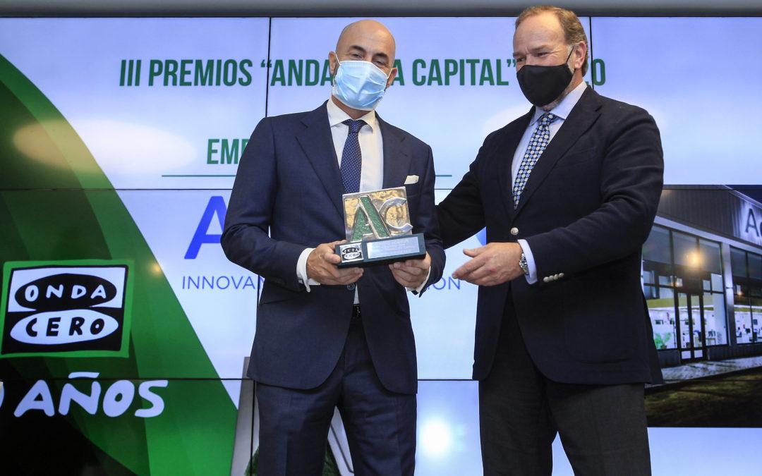 """Otorgados los """"Premios Andalucía Capital 2020"""" de Onda Cero en Caja Rural del Sur"""