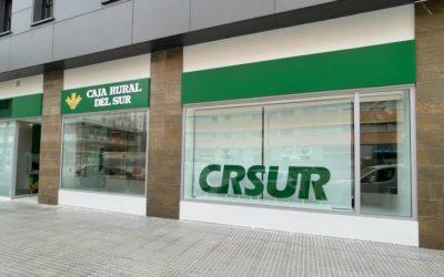 Caja Rural del Sur abre oficina en la calle Callejones del Perchel de Málaga por cambio de ubicación