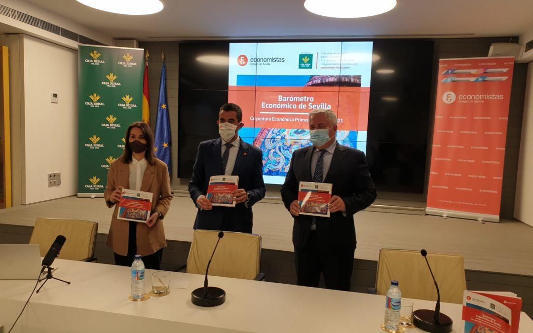 Presentación en Caja Rural del Sur del VIII Barómetro Económico de Sevilla del Colegio Profesional de Economistas