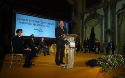 La Fundación Caja Rural del Sur entrega en Córdoba los premios «Ricardo López Crespo» 2021