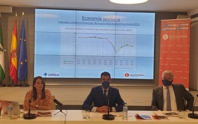 Presentación en Caja Rural del Sur del 9º Barómetro Económico de Sevilla del Colegio Profesional de Economistas