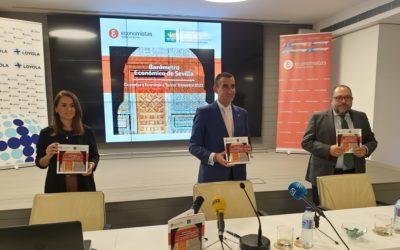 Presentación de la décima edición del Barómetro Económico de Sevilla del Colegio Profesional de Economistas